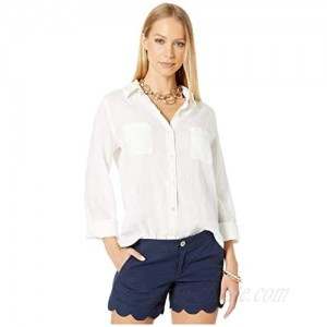 Lilly Pulitzer Women's Sea View Button Down Shirt